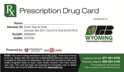 Prescription Savings Coupon Through United Networks of America